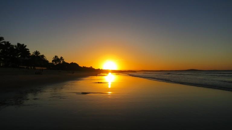 Sunset in Noosa